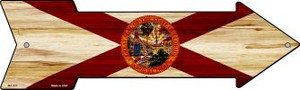 Florida State Flag Wholesale Novelty Mini Metal Arrow MA-530