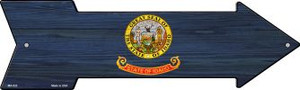 Idaho State Flag Wholesale Novelty Mini Metal Arrow MA-533