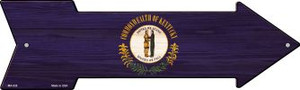Kentucky State Flag Wholesale Novelty Mini Metal Arrow MA-538