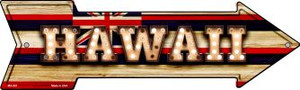 Hawaii Bulb Lettering Wholesale Novelty Mini Metal Arrow MA-591