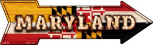 Maryland Bulb Lettering Wholesale Novelty Mini Metal Arrow MA-600