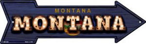 Montana Bulb Lettering Wholesale Novelty Mini Metal Arrow MA-606