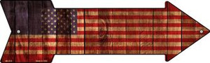 American Flag Wholesale Novelty Mini Metal Arrow MA-633