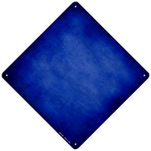 Blue Oil Rubbed Wholesale Novelty Mini Metal Crossing Sign MCX-005