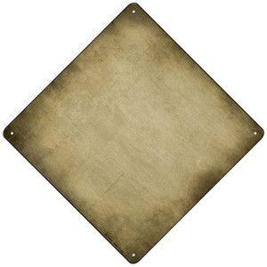 Gold Oil Rubbed Wholesale Novelty Mini Metal Crossing Sign MCX-015