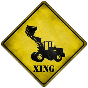 Dozer Xing Wholesale Novelty Mini Metal Crossing Sign MCX-128