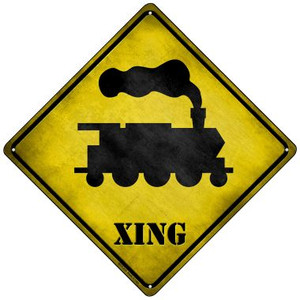 Train Xing Wholesale Novelty Mini Metal Crossing Sign MCX-210