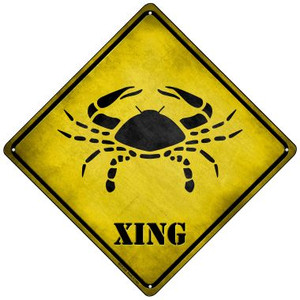 Cancer Xing Wholesale Novelty Mini Metal Crossing Sign MCX-239