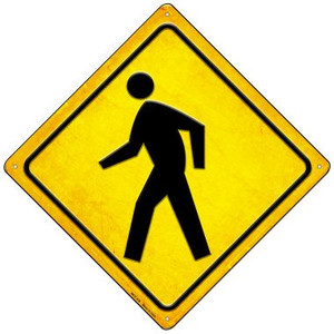 Crosswalk Wholesale Novelty Mini Metal Crossing Sign