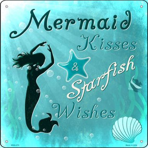 Mermaid Kisses Wholesale Novelty Mini Metal Square MSQ-070