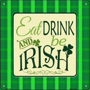 Be Irish Wholesale Novelty Mini Metal Square MSQ-298