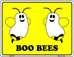 Boo Bees Wholesale Novelty Mini Metal Parking Sign PM-2236
