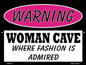 Fashion Is Admired Wholesale Novelty Mini Metal Parking Sign PM-779