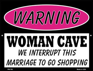 We Interrupt This Marriage Wholesale Novelty Mini Metal Parking Sign PM-780
