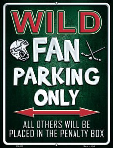 Wild Wholesale Novelty Mini Metal Parking Sign PM-333