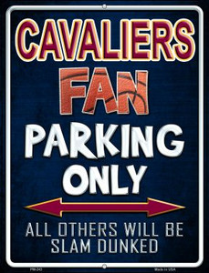 Cavaliers Wholesale Novelty Mini Metal Parking Sign PM-243