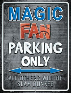 Magic Wholesale Novelty Mini Metal Parking Sign PM-254