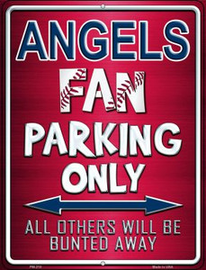 Angels Wholesale Novelty Mini Metal Parking Sign PM-210
