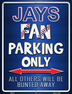 Jays Wholesale Novelty Mini Metal Parking Sign PM-213