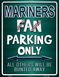 Mariners Wholesale Novelty Mini Metal Parking Sign PM-222