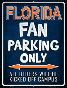 Florida Wholesale Novelty Mini Metal Parking Sign PM-275