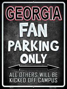 Georgia Wholesale Novelty Mini Metal Parking Sign PM-277