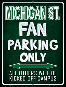 Michigan State Wholesale Novelty Mini Metal Parking Sign PM-286