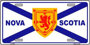 Nova Scotia Flag Novelty Wholesale Metal License Plate LP-1290