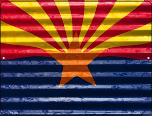 Arizona Flag Wholesale Novelty Mini Metal Parking Sign PM-2308