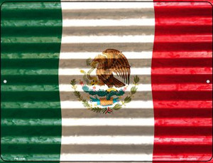 Mexico Flag Wholesale Novelty Mini Metal Parking Sign PM-2309