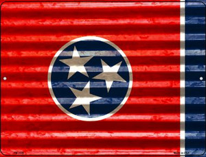 Tennessee Flag Wholesale Novelty Mini Metal Parking Sign PM-2356