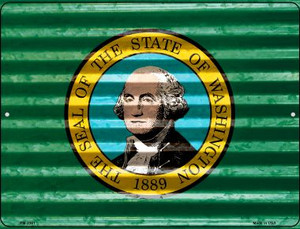 Washington Flag Wholesale Novelty Mini Metal Parking Sign PM-2361