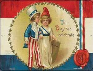 The Day We Celebrate Wholesale Novelty Mini Metal Parking Sign PM-1869