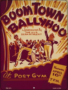 BoomTown Ballyhoo Wholesale Novelty Mini Metal Parking Sign PM-1874