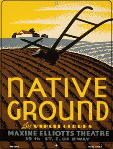 Native Ground Wholesale Novelty Mini Metal Parking Sign PM-1904