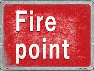 Fire Point Wholesale Novelty Mini Metal Parking Sign PM-2715