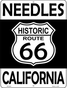 Needles California Historic Route 66 Wholesale Novelty Mini Metal Parking Sign PM-2804