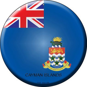 Cayman Islands Country Wholesale Novelty Small Metal Circular Sign UC-227