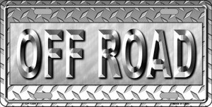 Off Road Novelty Wholesale Metal License Plate