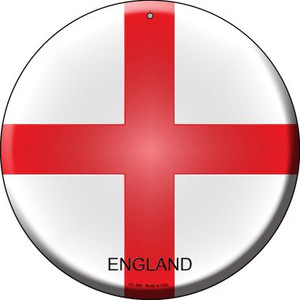 England Country Wholesale Novelty Small Metal Circular Sign UC-260