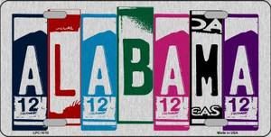 Alabama License Plate Art Wholesale Metal Novelty License Plate