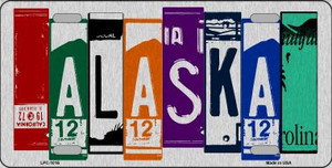 Alaska License Plate Art Wholesale Metal Novelty License Plate