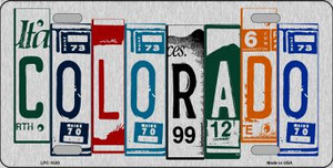 Colorado License Plate Art Wholesale Metal Novelty License Plate