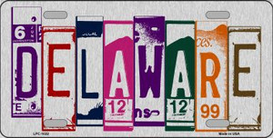 Delaware License Plate Art Wholesale Metal Novelty License Plate