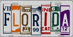 Florida License Plate Art Wholesale Metal Novelty License Plate