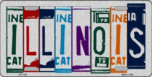 Illinois License Plate Art Wholesale Metal Novelty License Plate