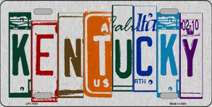 Kentucky License Plate Art Wholesale Metal Novelty License Plate