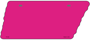Pink Solid Wholesale Novelty Metal Tennessee License Plate Tag TN-002