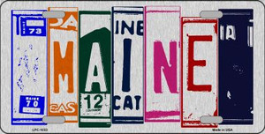 Maine License Plate Art Wholesale Metal Novelty License Plate