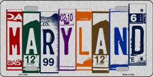 Maryland License Plate Art Wholesale Metal Novelty License Plate